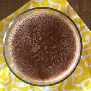 Banana Cacao Smoothie Recipe: Dairy Free and Perfect Post-Workout Fuel!